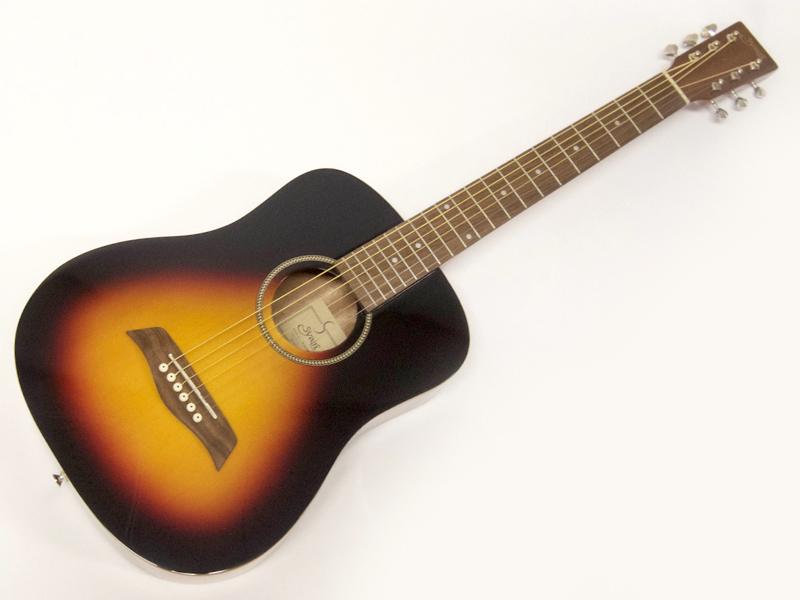 S.Yairi ( エスヤイリ ) YM-02(VS) AGスタートパック10点セット【初心者 入門 アコースティックギター セット】