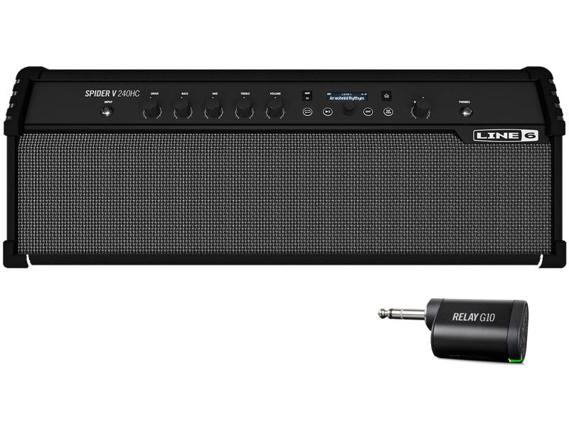 LINE6 ( ラインシックス ) SPIDER V240HC + G10T【ギターアンプ プラス ワイヤレスシステム アウトレット 特価】【お買い得プライス!   】