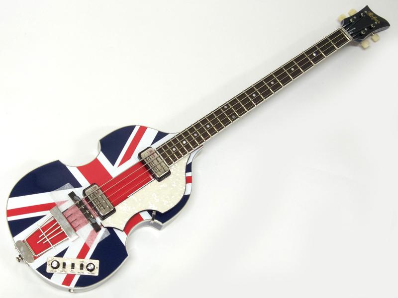 Hofner ( ヘフナー ) HTC 500/1 Union Flag【 バイオリンベース 特価品 】【勝負価格! 】