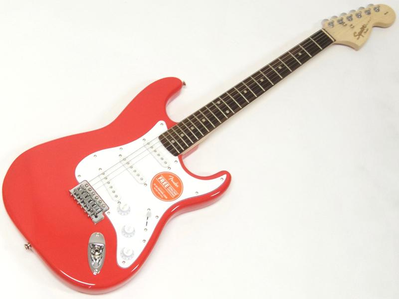 SQUIER ( スクワイヤー ) Affinity Stratocaster (RCR/R) 【ストラトキャスター by フェンダー】【C3316 モノグラム・ストラップ プレゼント 】 エレキギター