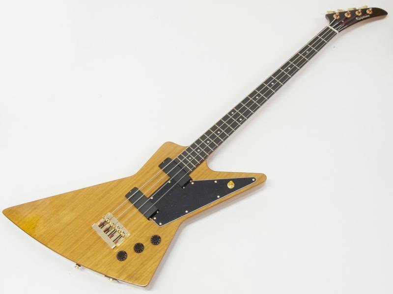 EPIPHONE ( エピフォン ) Ltd Ed Korina Explorer Bass(AN)エレキベース スタートパック13点セット【 初心者 入門 セット 】 by ギブソン エクスプローラーベース