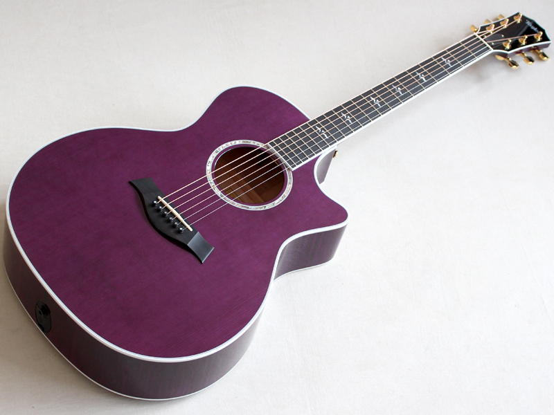 Taylor ( テイラー ) Custom GAce-Maple Premium Purple
