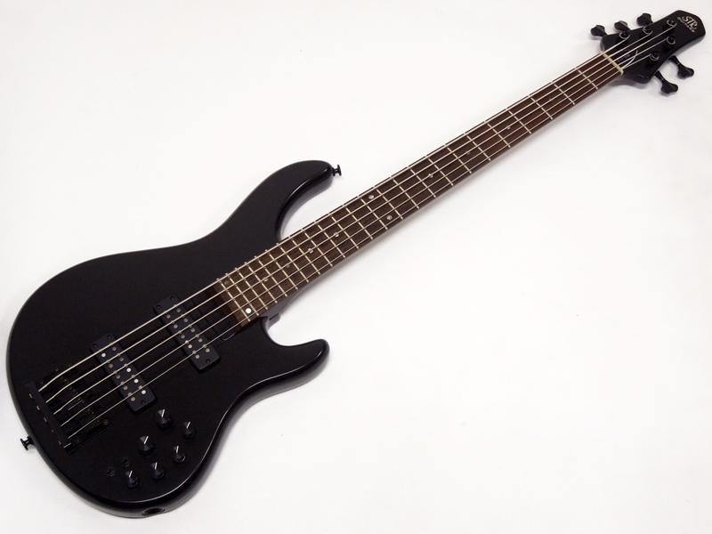 STR GUITARS LS5-ASH / Mountain Night Black 【国産 5弦ベース 特価 WO 】【勝負価格! 】