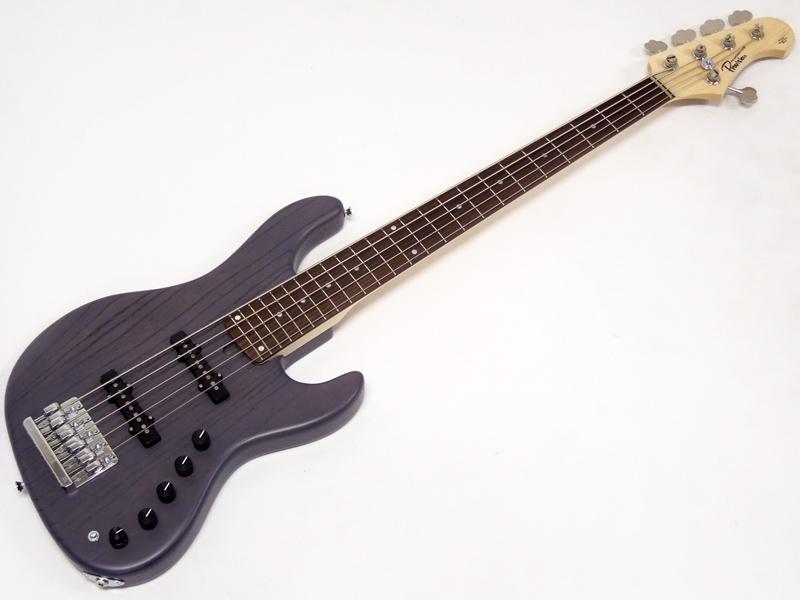 Provision Guitar ( プロビジョンギター ) JBC-PRO 5st /BLK-Zebra 【国産 5弦ベース WO 】
