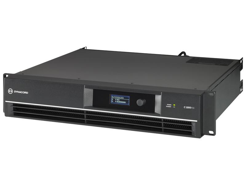 【史上最も激安】 DYNACORD ( series ダイナコード 送料無料 ) C1800FDi DSP搭載 固定設備向け パワーアンプ ] 480W+480W (8Ω)/ハインピーダンス 1250W (70V) [ C series ][ 送料無料 ], 丹波町:cb78699c --- clftranspo.dominiotemporario.com