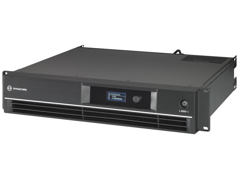 パワーアンプ ] ][ DYNACORD (8Ω) ダイナコード [ series L L2800FD 送料無料 DSP搭載 700W+700W ) (