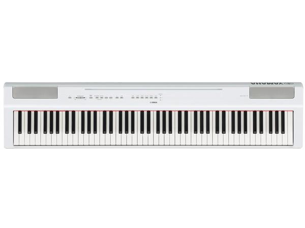 YAMAHA ( ヤマハ ) P-125WH(ホワイト) ◆ 【電子ピアノ】 【送料無料】【デジタルピアノ】【88鍵盤】