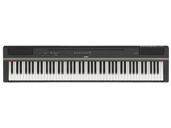 YAMAHA ( ヤマハ ) P-125B(ブラック) ◆ 【電子ピアノ】 【送料無料】【デジタルピアノ】【88鍵盤】