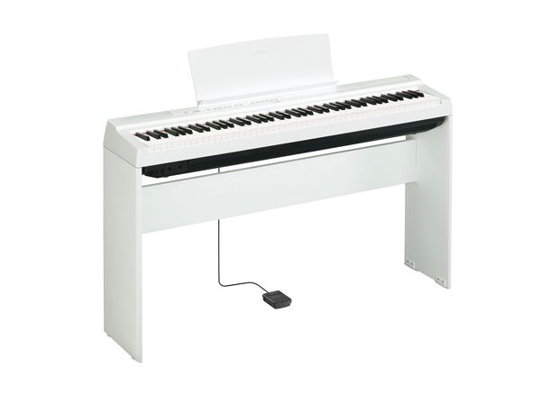 YAMAHA ( ヤマハ ) P-125WH 純正スタンドセット ◆ 【P-125WHSET1】【電子ピアノ】 【送料無料】