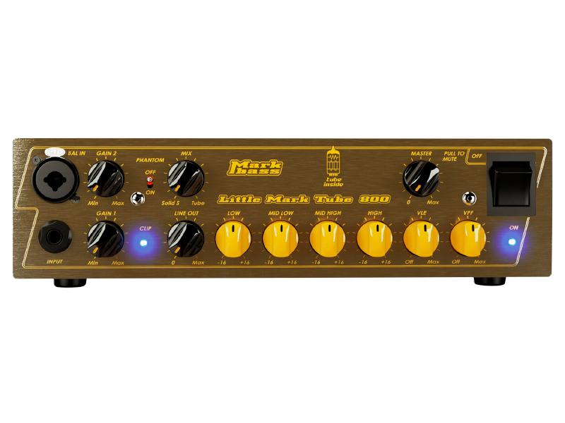 Markbass ( マークベース ) Little Mark Tube 800【リトル・マーク・チューブ  800W ベースアンプ・ヘッド 】【MAK-LMT800】