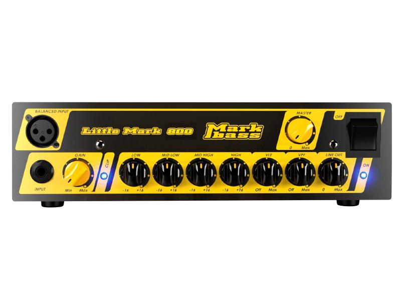 Markbass ( マークベース ) Little Mark 800【リトル・マーク 800 800W ベースヘッド 】【MAK-LM800】