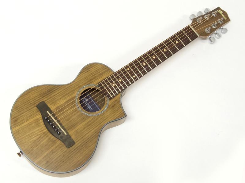 渋めでかわいいアコースティックギター Ibanez ( アイバニーズ ) EWP14WB【 ミニ・ アコースティックギター  】