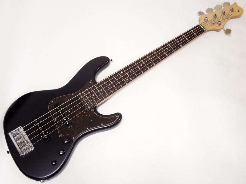Freedom Custom Guitar Research Anthra 5st Alder / R Shadow Black 【国産 5弦 エレキベース WO】