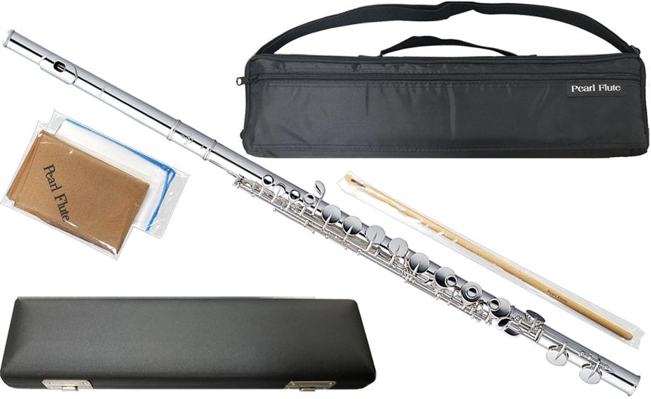 Pearl Flute ( パールフルート ) PFA-201ES アルトフルート リッププレート 銀製 Ag925 ストレート頭部管 洋銀製 Eメカニズム G足部管 alto flute PFA201ES 送料無料(代引き不可)