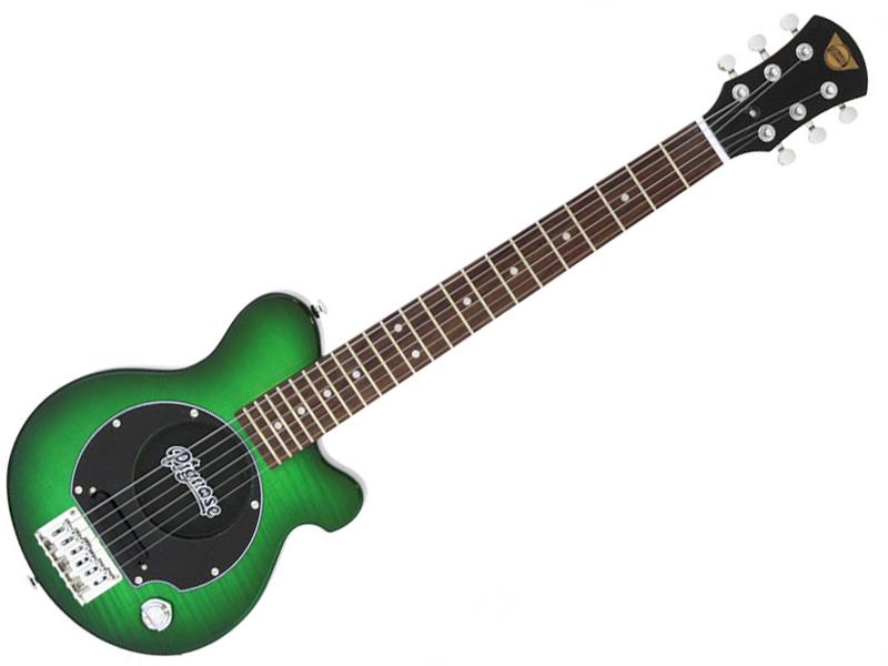 Pignose ( ピグノーズ ) PGG-200FM (SGR)【アンプ内蔵 エレキギター ミニギター 】 PGG200 フレイムメイプル