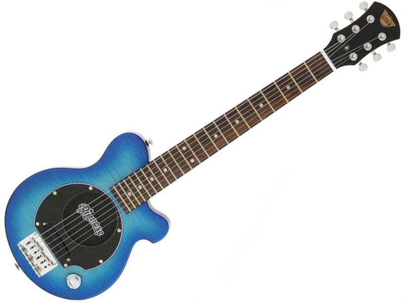Pignose ( ピグノーズ ) PGG-200FM SBL【アンプ内蔵 エレキギター ミニギター  】【ピグノーズギター弦プレゼント! 冬特価! 】
