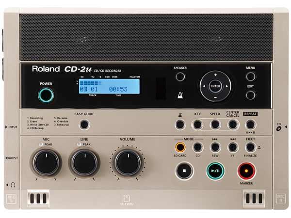 Roland ( ローランド ) CD-2u ◆ SD・CDレコーダー [ 送料無料 ]