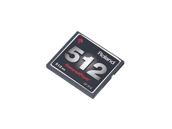 Roland ( ローランド ) CF-512 ◆ コンパクトフラッシュ・メモリーカード(512Mバイト)