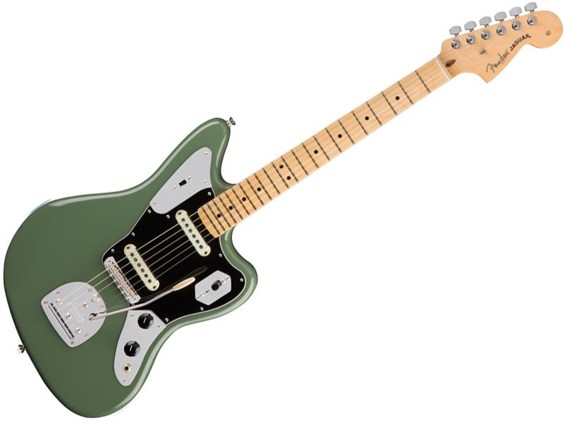 Fender ( フェンダー ) American Professional Jaguar ( Antique Olive ) 【USA ジャガー アメプロ 】