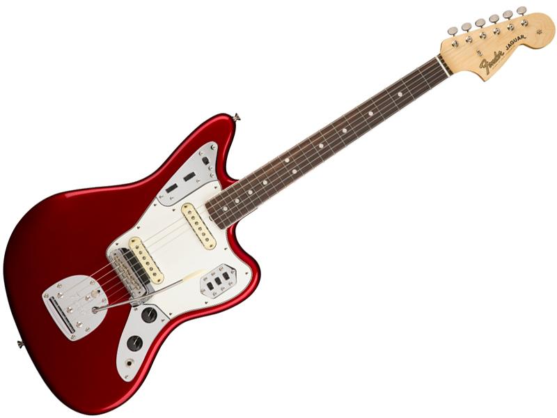 Fender ( フェンダー ) American Original 60s Jaguar(Candy Apple Red )【USA ジャガー アメリカン・オリジナル 】【0110160809】