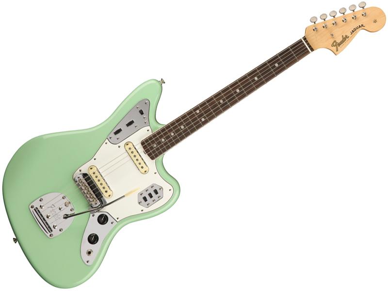 Fender ( フェンダー ) American Original 60s Jaguar( Surf Green )【USA ジャガー アメリカン・オリジナル 】【0110160857】