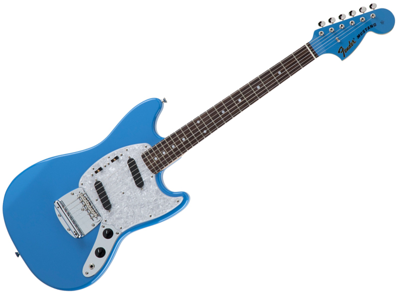 Fender ( フェンダー ) Made in Japan Traditional 70s Mustang Matching Head(California Blue )【国産 ムスタング MIJ】【5354710330】 フェンダー・ジャパン