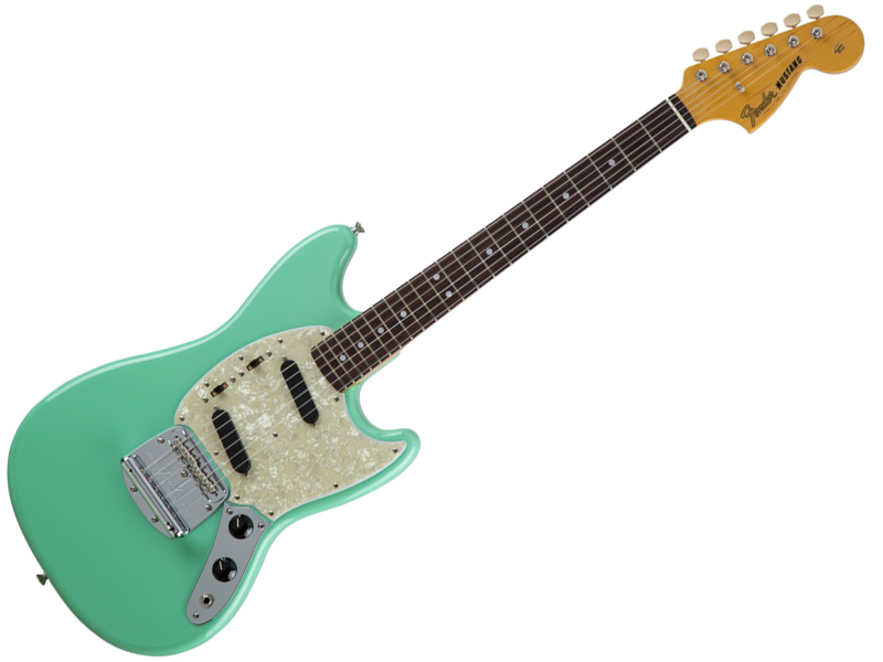 Fender ( フェンダー ) Made in Japan Traditional 60s Mustang(Surf Green )【国産 ムスタング MIJ】【5354600357】 フェンダー・ジャパン