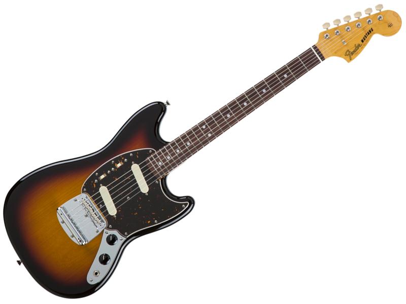 Fender ( フェンダー ) Made in Japan Traditional 60s Mustang(3-Color Sunburst )【国産 ムスタング MIJ】【5354600300】 フェンダー・ジャパン