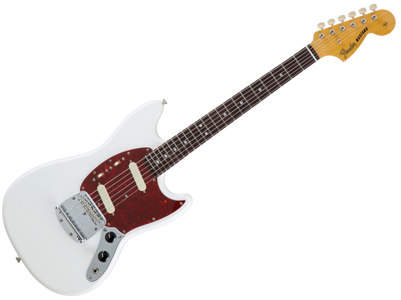 Fender ( フェンダー ) Made in Japan Traditional 60s Mustang(Arctic White )【国産 ムスタング MIJ】【5354600380】 フェンダー・ジャパン