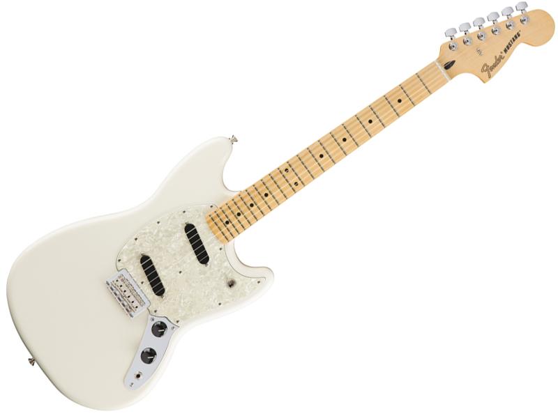 Fender ( フェンダー ) Mustang ( Olympic White )【ムスタング エレキギター 】【144042505】