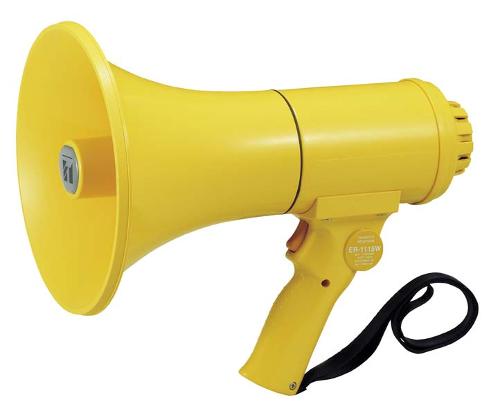 TOA ( ティーオーエー ) ER-1115W ◆ メガフォン 15W ・中型・防滴
