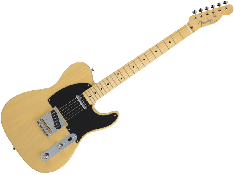 Fender ( フェンダー ) Made in Japan Hybrid 50s Telecaster (Off-White Blonde )【国産 テレキャスター 】【5655002301】 フェンダー・ジャパン