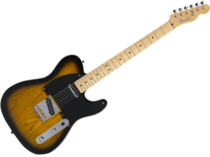 Fender ( フェンダー ) Made in Japan Hybrid 50s Telecaster (2-Color Sunburst)【国産 テレキャスター 】【5655002303】 フェンダー・ジャパン