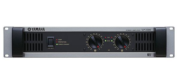 YAMAHA ( ヤマハ ) XP3500 ◆ パワーアンプ ・350W+350W 8Ω [ XP series ][ 送料無料 ]