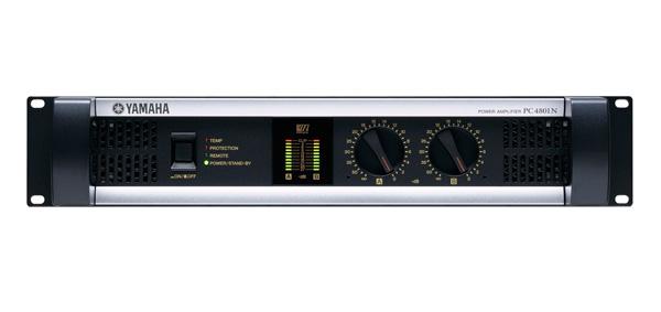 YAMAHA ( ヤマハ ) PC4801N ◆ パワーアンプ ・450W+450W 8Ω [ PC-1N series ][ 送料無料 ]