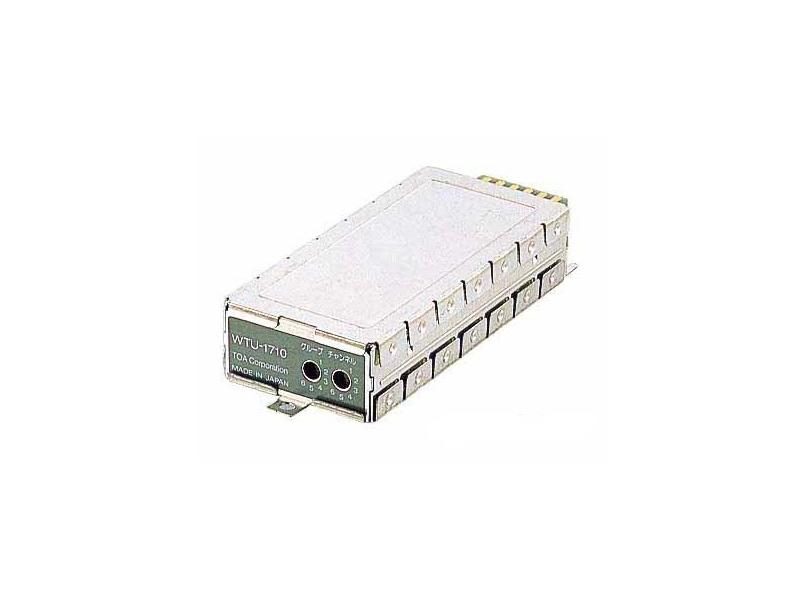 TOA ( ティーオーエー ) WTU-1710 ◆ プラグイン型チューナーユニット [ ワイヤレスシステム 関連商品 ]