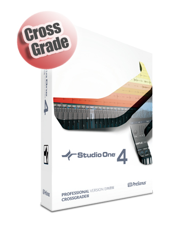 PreSonus ( プリソーナス ) Studio One 4 Crossgrade 日本語版(ボックス) ◆【送料無料】【DTM】【DAW】