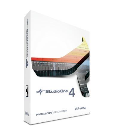 PreSonus ( プリソーナス ) Studio One 4 Professional 日本語版(ボックス) ◆【送料無料】【DTM】【DAW】