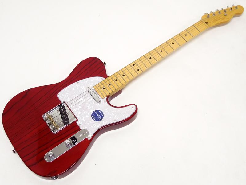 momose(モモセ) MTL2-STD See Through Red/M 【 国産エレキギター オーダーモデル WO8644 】【限定プライスダウン! 】