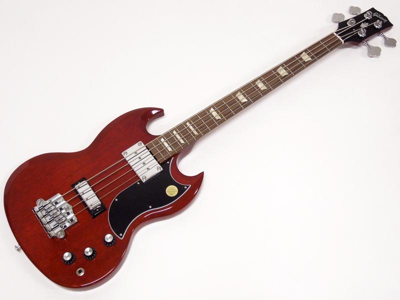 Gibson ( ギブソン ) SG Standard Bass 2018 / Heritage Cherry【USA SGベース WO 180039698 】 【半端無いって!価格 】