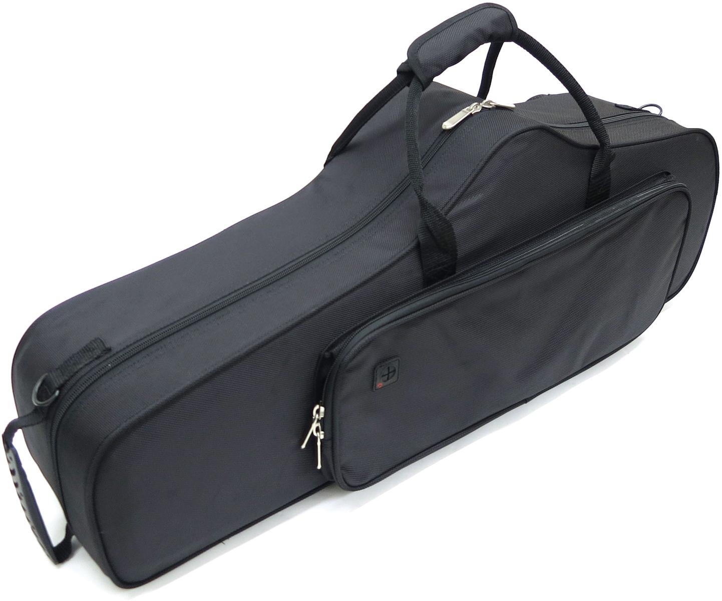 テナーサクソフォン用ケース bag black 黒色 軽量 テナー用 箱ボロ 2020新作 テナーサックス用 セミハードケース リュックタイプ テナーサックスケース 沖縄 北海道 激安 同梱不可 代引き tenor セット 離島 TNC case saxophone A