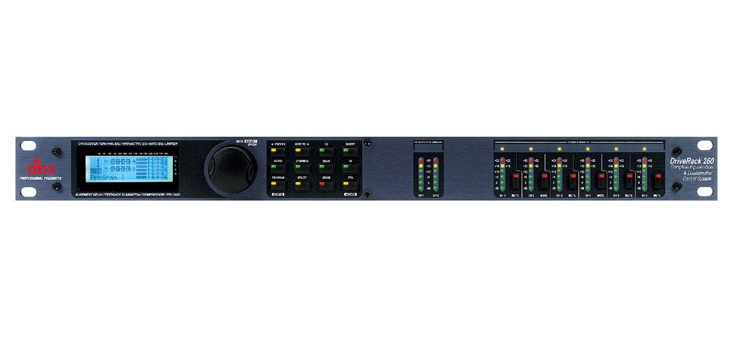 DBX ( ディービーエックス ) DriveRack 260 ◆ 音響出力 プロセッサー [ 音響機器 ][ 送料無料 ]