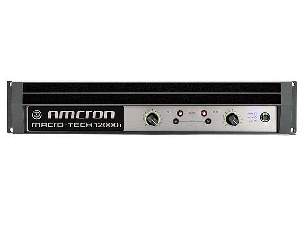 CROWN /AMCRON ( クラウン /アムクロン ) MA-12000i ◆ パワーアンプ ・2100W+2100W 8Ω ・C型コネクター電源ケーブル [ Macro-Tech I series ]