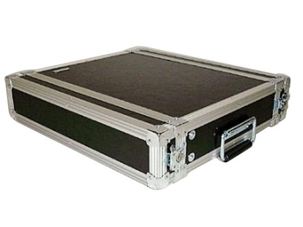 ARMOR ( アルモア ) 2U RACKCASE D360mm 黒 ◆ ラックケース FRP ラックエフェクター・アウトボード・パワーアンプ等 収納