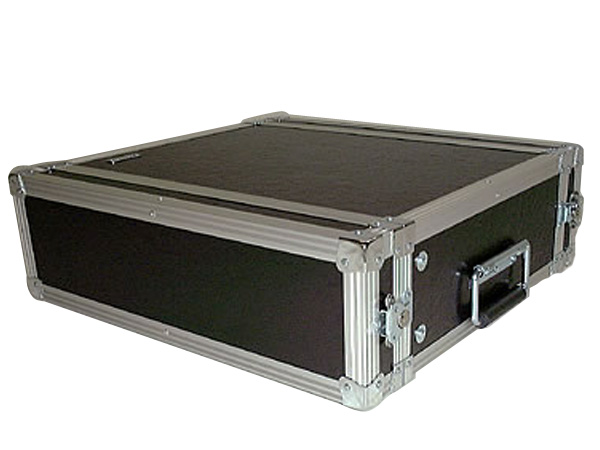 ARMOR ( アルモア ) 3U RACKCASE D360mm 黒 ◆ ラックケース FRP ラックエフェクター・アウトボード・パワーアンプ等 収納