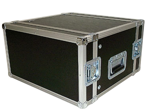 ARMOR ( アルモア ) 6U RACKCASE D450mm 黒 ◆ ラックケース FRP ラックエフェクター・アウトボード・パワーアンプ等 収納