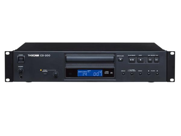 TASCAM ( タスカム ) CD-200 ◆ CDプレーヤー [ 送料無料 ]