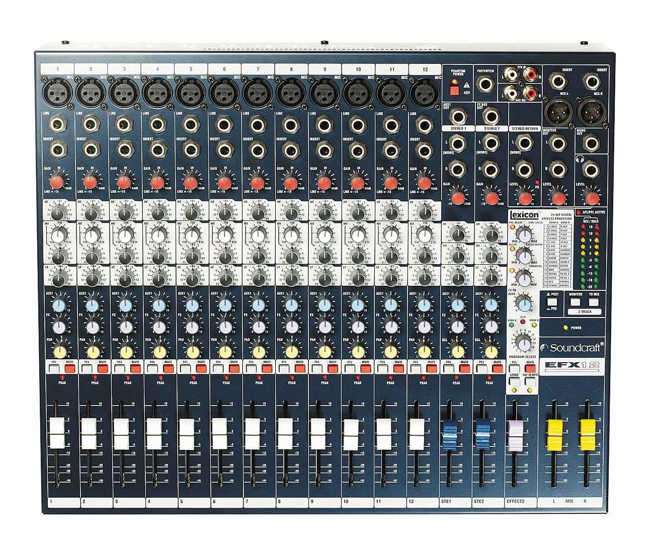 SOUND CRAFT ( サウンドクラフト ) EFX12 ◆ アナログミキサー [ 送料無料 ]