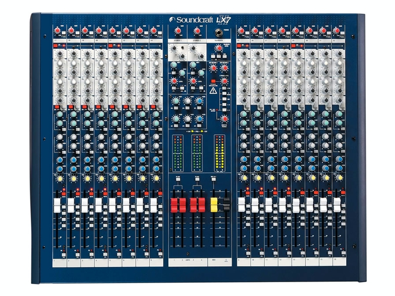 SOUND CRAFT ) ( サウンドクラフト ) LX7-2 [ 16ch◆ 16ch アナログミキサー [ 送料無料 ], デイジードッグ:f740be34 --- ww.thecollagist.com