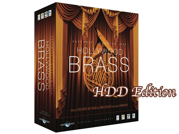 EASTWEST ( イーストウエスト ) HOLLYWOOD BRASS Diamond Edition HDD/ Win版【EW-202W】【台数限定特価 本数限定 】 ◆ 【送料無料】【正規代理店取扱い】【ソフトウェア音源】【DAW】【DTM】